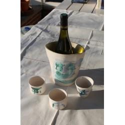 Aardewerk Brigitte Neven- Wijnkoeler